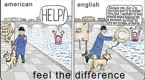 Perbedaan American English Vs British English