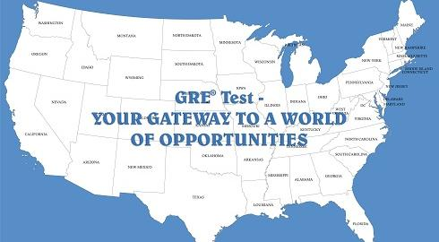 The List Of US Universities Which Accept GRE Score - Us map universities