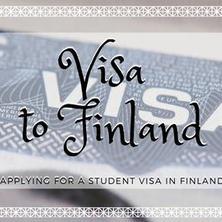 ขอวีซ่านักศึกษาฟินแลนด์