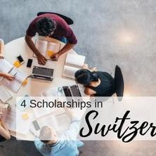 4 ทุนการศึกษาเพื่อการศึกษาต่อของคุณที่สวิสเซอร์แลนด์