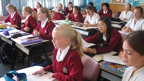 Sacred Heart Girls College Class