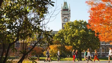 University of Otago in Autumn